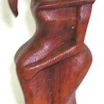 abstract-wood-carving, abstract woman, wholesale indonesia wood carvings