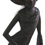 abstract-wood-carving, Balinese carvers create wooden abstract, nude abstract wood