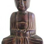 blessing-buddha-bali, indonesian wood carved statues wholesaler