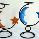 5wrought-iron-candle-stand, wrought iron candle chandelier, indonesia exports