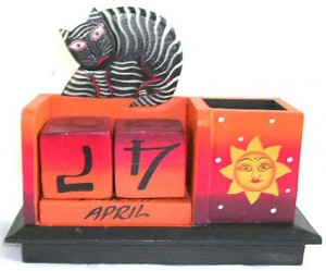 bali-artisan-handicrafts-calendar, micro producers in Bali, wholesale direct