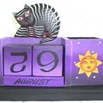 bali-artisan-handicrafts-calendar, 2011 handcrafted wall calenders