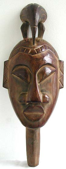 wooden art manufacturer  exported totem pole style art  online shopping  indonesian mask