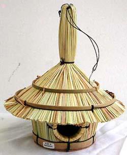 Bamboo Bird Houses
