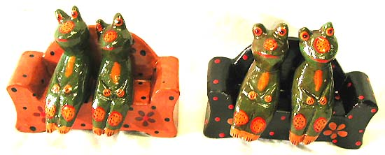 Animal figurines, wooden decor, home furnishing trinkets, bali gift, exotic carvings, fun statues