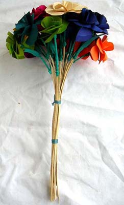 Colorful flower bouquet, imitation flowers, floral decorations, home designs, quality artificial floral arrangement