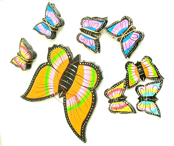 Home Decoration Supply Warehouse Importer Butterfly