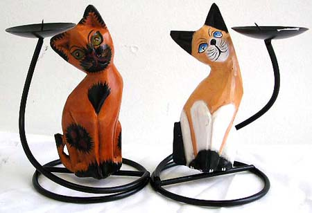 wholesale animal lovers home decor, online wrought iron candle holder ...