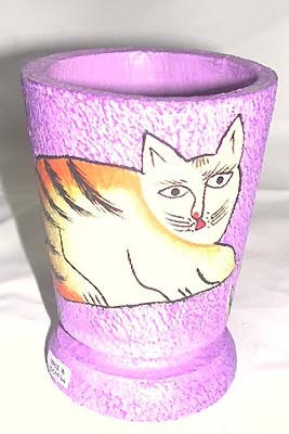 Batik kitchen ware, crafted product, bali painted cup, trendy ornament, handicraft, indonesian container