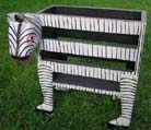 Wood magazine rack, wild zebra book case, bali style office gifts, wild animal products, quality wooden collectibles