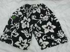 Surf hawaiian shorts. boys beach wear, tropical flower apparel, swim suit, kids vacation wear, batik short pants