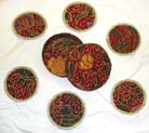 Bali carvings, kitchen ware, cup coaster, home decor, interior designs, Batik decoration designs, artisan novelties